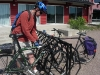 Bicycle Parking, Stockey Centre, Town of Parry Sound