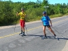Roller Skiing, Hwy 559, Carling, West Parry Sound