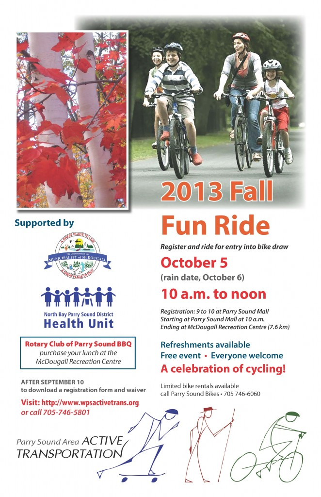 2013 Fall Fun Ride final draft